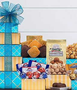 Chocolate and Sweets Gift Basket