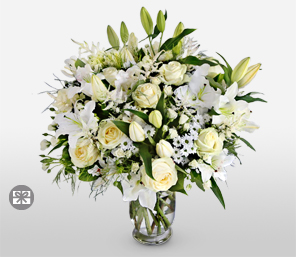 Heavenly Surprise-Rose,Lily,Online,Flowers,Bouquet,Surprise
