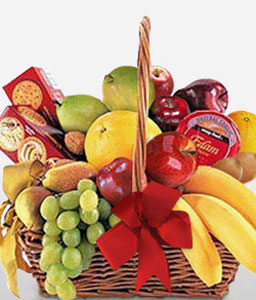 Say Cheese-Fruit,Gourmet,Basket,Hamper