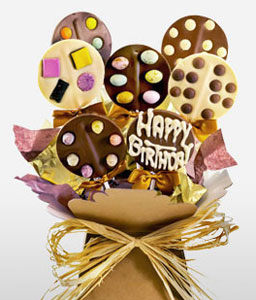 Birthday Celebration Choc Pops-Chocolates,Pops,Birthday,Hampers,Gifts