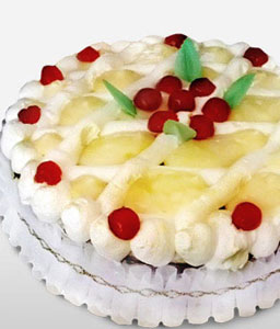 Deliciously Fruity-Cake,Fruit,Ananas,Birthday