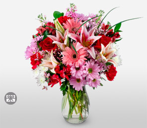 Floral Delight - Mixed Flowers Bouquet
