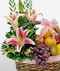 Sparkling Fruit Basket