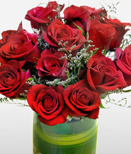 Sacred Love <Br><Font Color=Red>Bunch of 12 Red Roses</Font>