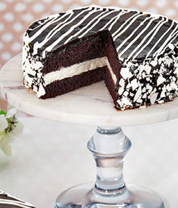 Black and White Mousse Cake - 35oz/1kg