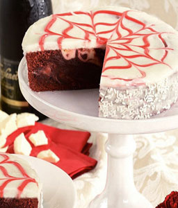 Red Velvet Brownie Cake - 35oz/1kg