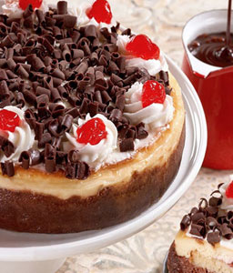 Black Forest Cheesecake - 35oz/1kg