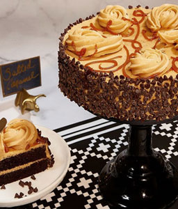 Royal Caramel Chocolate Cake - 35oz/1kg