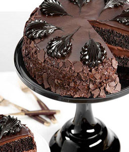 Chocolate Mousse Torte Cake