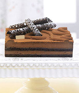 Chocolate Sponge Cake - - 17.6oz/500g