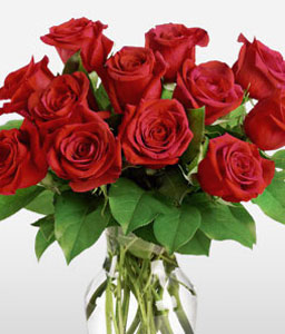 Love Forever - Dozen Red Roses