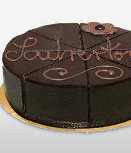 Sacher Nougat Cream Cake - 21oz/600g