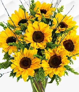 Sensational Sunflowers Bouquet