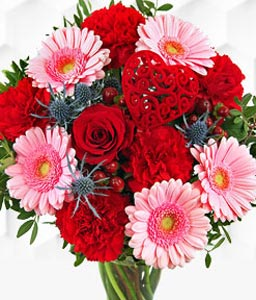The Romantic - Mixed Flowers Bouquet