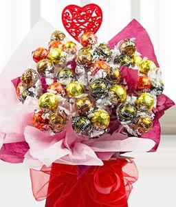 Lindt Chocolate Bouquet