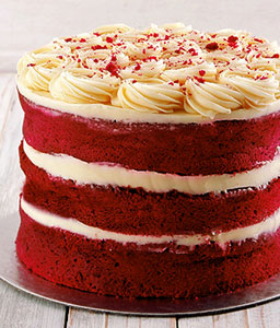 Naked Red Velvet Cake - 91.68oz/ 2.5kg