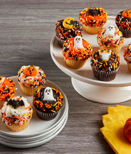 Mini Halloween Cupcakes
