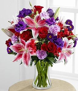 Stunning Mixed Flowers in Vase