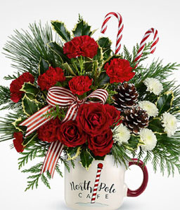 Spirited Holiday Bouquet