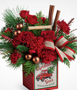 Vintage Christmas Bouquet