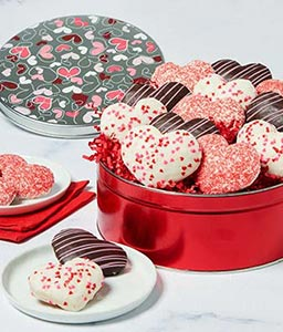 Heart-Shaped Cookie Tin