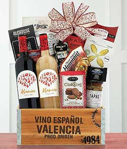 Abanico Spanish Red and White Wine Gift