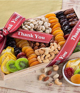 Thank You! Dried Fruit and Nut Collection