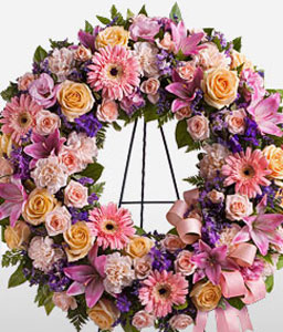 Traditional Wreath-Wreath,Sympathy