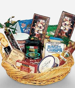 Royal Gourmet Basket-Chocolate,Gourmet,Wine,Basket,Hamper