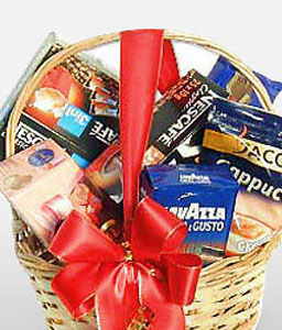 Coffee Fragrance-Gourmet,Basket,Hamper