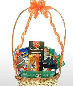 Sweet Tooth-Chocolate,Gourmet,Basket,Hamper