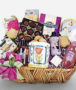 Grand Gourmet-Gourmet,Wine,Basket,Hamper
