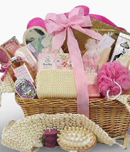 Bubble Pop-Spa,Basket,Hamper