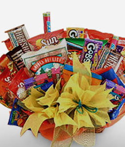Royal Treat Birthday Basket-Chocolate,Hamper