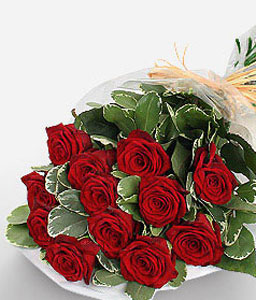Heavenly Roses-Red,Rose,Bouquet