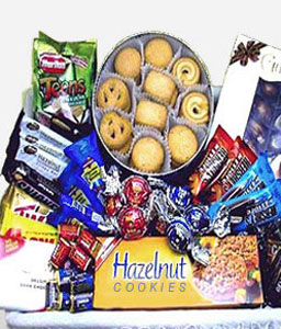 Chocolate Gourmet Basket