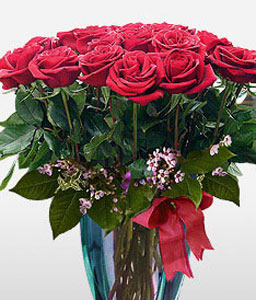 Pure Love-Red,Rose,Arrangement