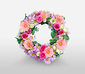 Heavenly Grace-Wreath,Sympathy