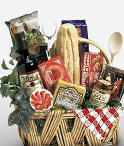 La Italiano-Gourmet,Chocolate,Basket,Hamper