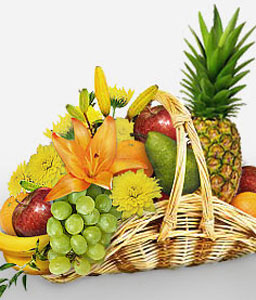 Natures Basket-Fruit,Gourmet,Basket