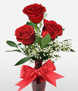 Red Red Love-Red,Rose,Bouquet