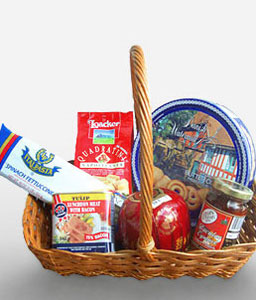 Picnic Grove-Chocolate,Gourmet,Basket,Hamper