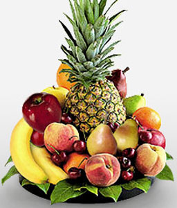 Delightful Fruit Basket-Fruit,Basket,Hamper