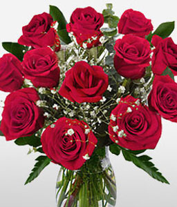 Zen Mystique-Red,Rose,Arrangement