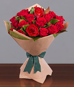 Timeless Love <Br><Font Color=Red>12 Red Roses - Sale $25 Off</Font>