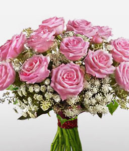 Glamour-Pink,Rose,Bouquet
