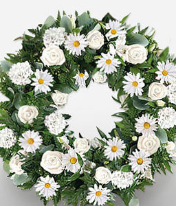 White Wreath-Wreath,Sympathy