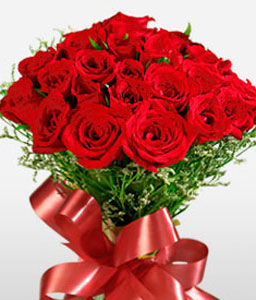 2 Dozen Roses - Anniversary Special-Red,Rose,Bouquet