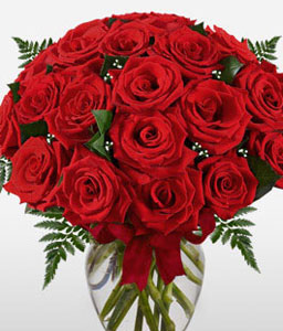 Romeo And Juliet-Red,Rose,Basket