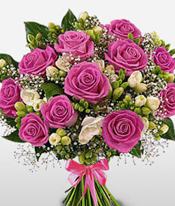 Empress Avenue-Pink,Rose,Bouquet